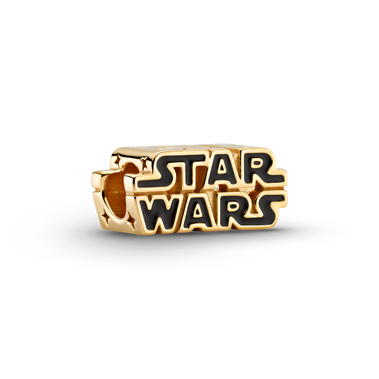 Star Wars, Charm scintillante con logo in 3D