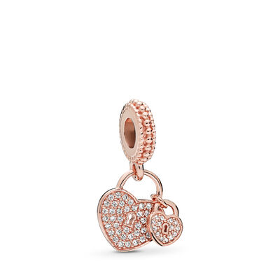 Charm Pendente Lucchetti d'Amore