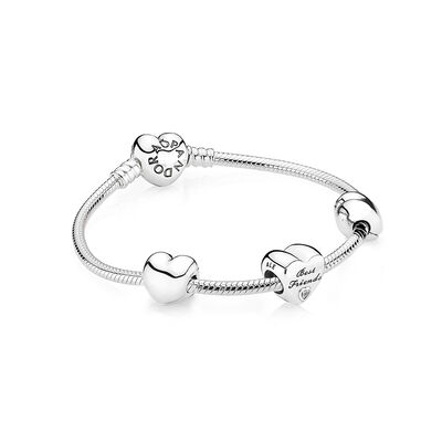 BEST FRIENDS FOREVER - PANDORA - #C-giftset-DROP3-damigella-7