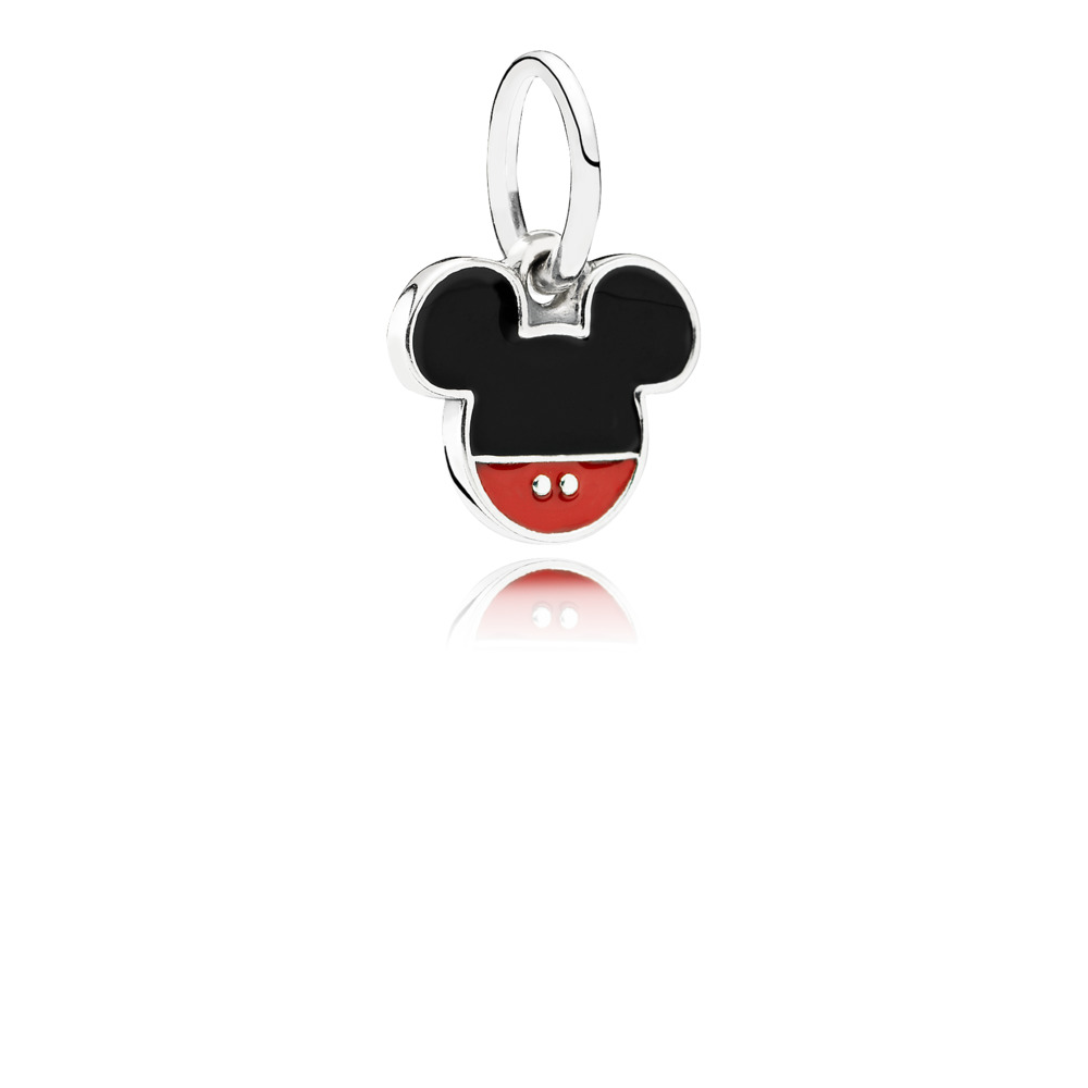 Disney, Charm pendente Iconico Mickey Mouse