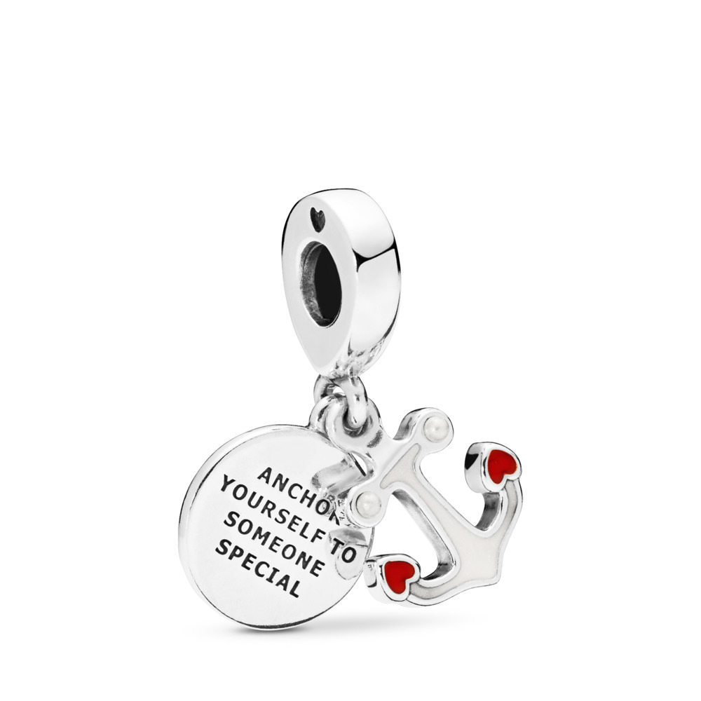 Charm Pendente Ancora d'Amore